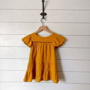 Zara Baby Gold Lined Dress